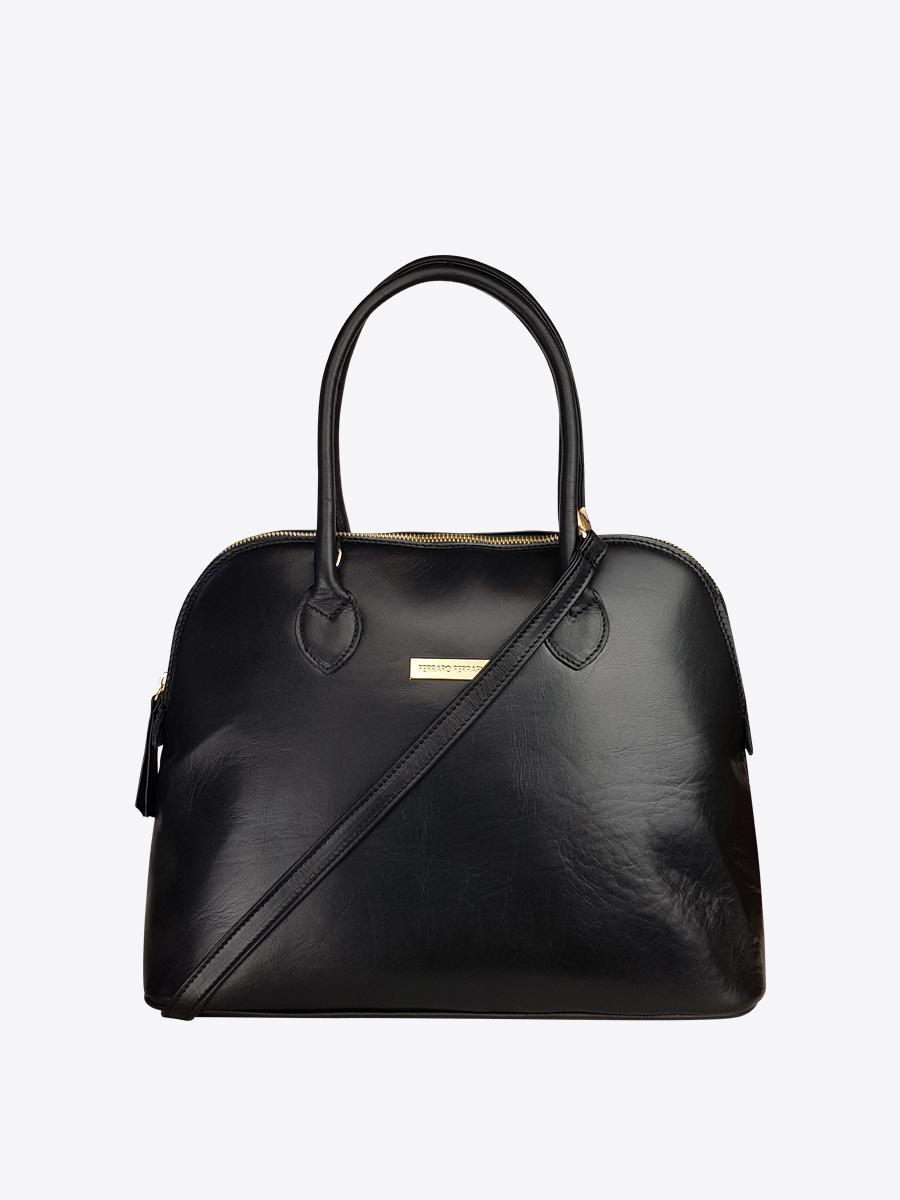 Monaco Ii Leather Bowling Bag